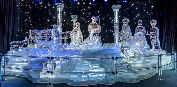 Фестиваль ледяных скульптур 2018