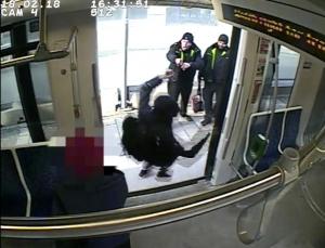 Фото: Предоставлено полицией На фото: Молодой человек обвиняет сотрудников TTC в дискриминации