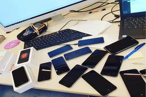 Фото: Instagram На фото: Полиция Торонто обнародовала список украденных телефонов