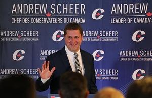 Фото: Wikimedia Commons На фото: Канадцы не могут определиться, кто сможет лучше управлять экономикой страны Джастин Трюдо или Эндрю Шир
