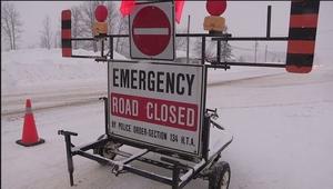 Фото: Twitter На фото: В понедельник в провинции сохранятся сложные дорожные условия