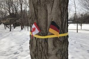 фото: Twitter.com; на фото: флаг Германии перепутали с флагом Бельгии