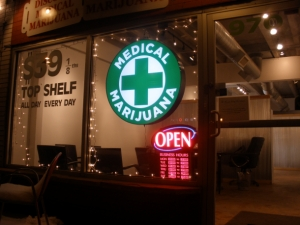 фото: wikimedia.org; на фото: Первый магазин по продаже марихуаны откроют в Скарборо
