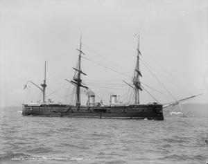 Фото: wikipedia.org На фото: Крейсер был спущен на воду в 1883 году