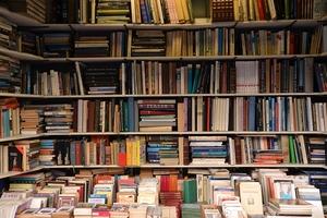 Фото: pixabay.com На фото: Библиотека выставит на продажу более 1,000 книг