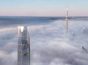 Фото: Pinnacle International На фото: Помимо этой высотки, рядом построят еще две, пониже