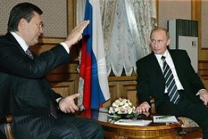 сайт Wikipedia, На фото: Янукович на приеме в Кремле