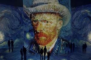 Фото: Immersive Van Gogh На фото: иллюстрация